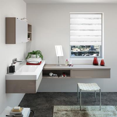 Aménagez l\'angle de votre salle de bains | Meubles de salle ...