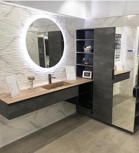 meuble salle de bain extenso sur mesure cedam