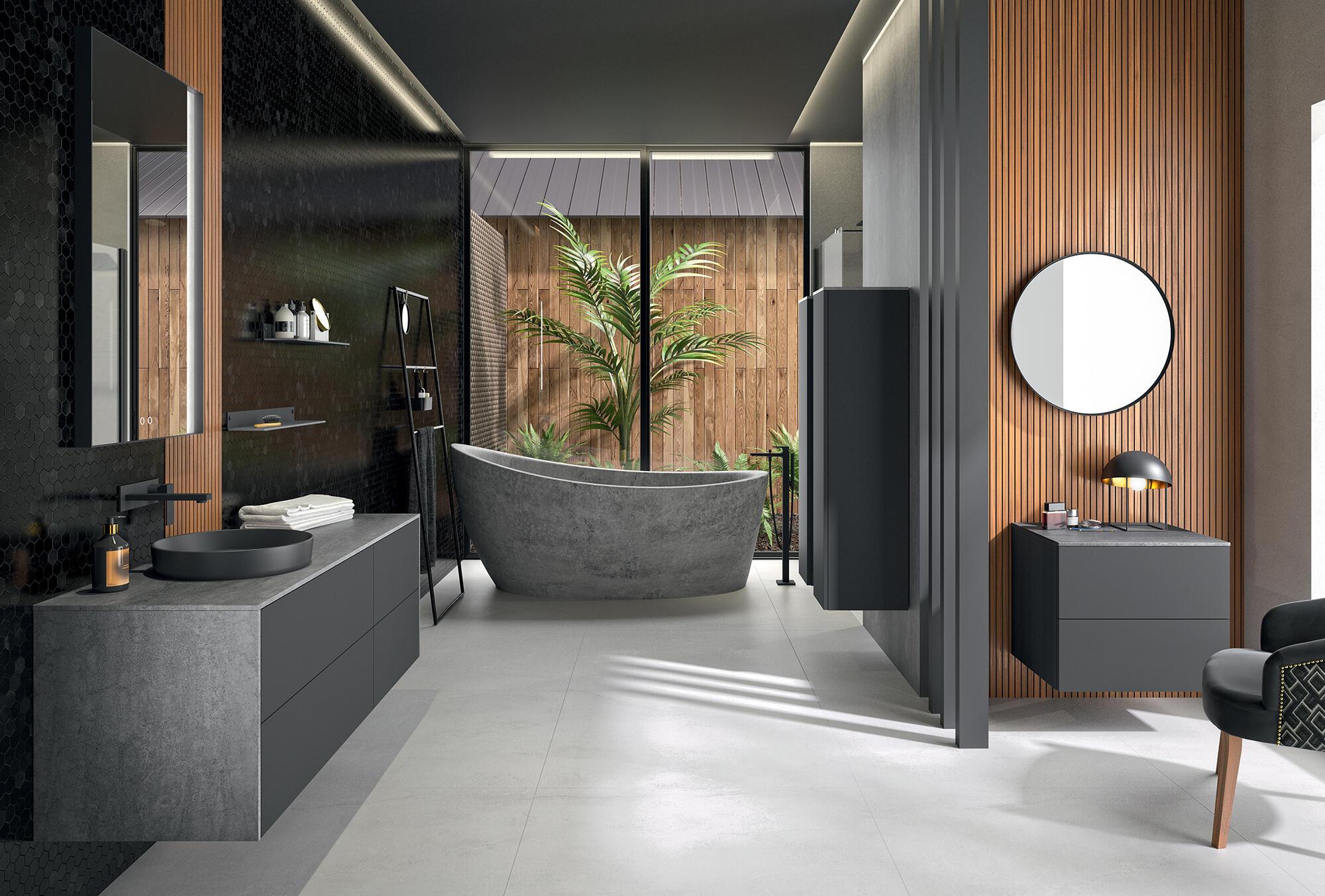 meuble de salle de bain iconik cedam