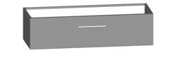 laura 120 cm 1 tiroir