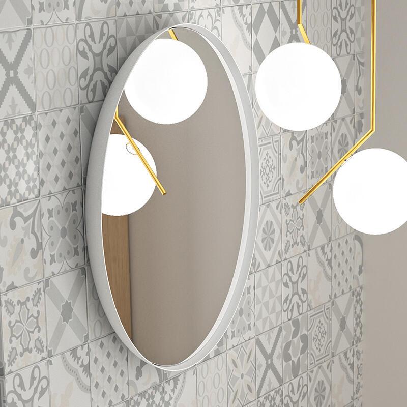 miroir coupole blanc cedam