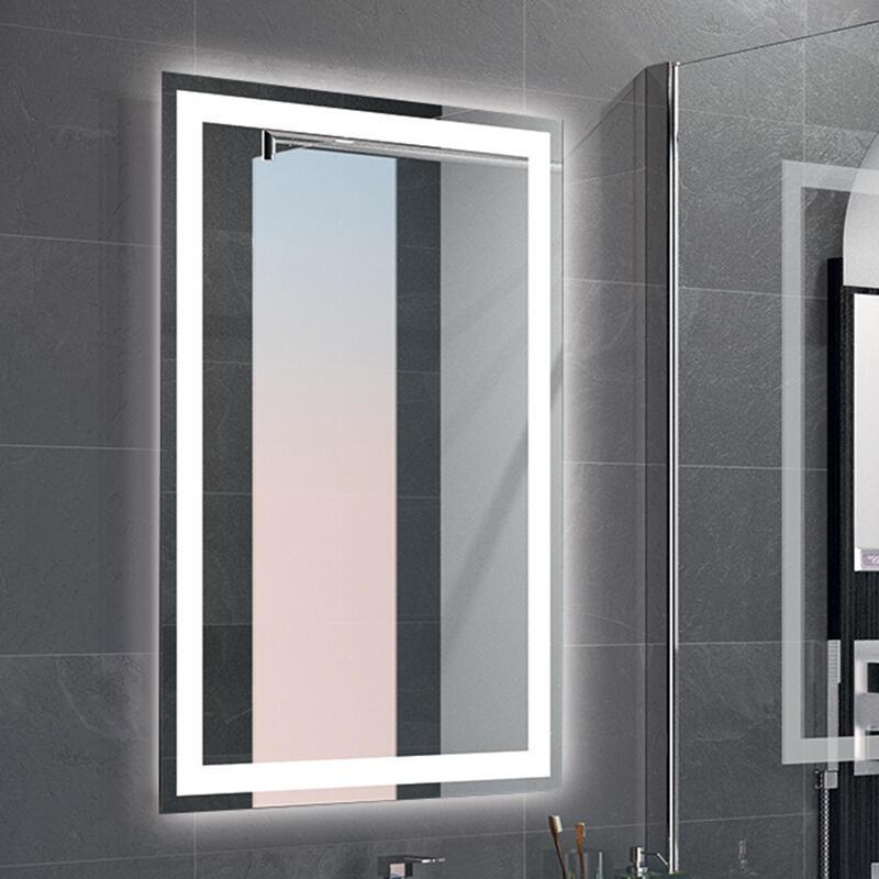 miroir cadre led retro eclairage cedam
