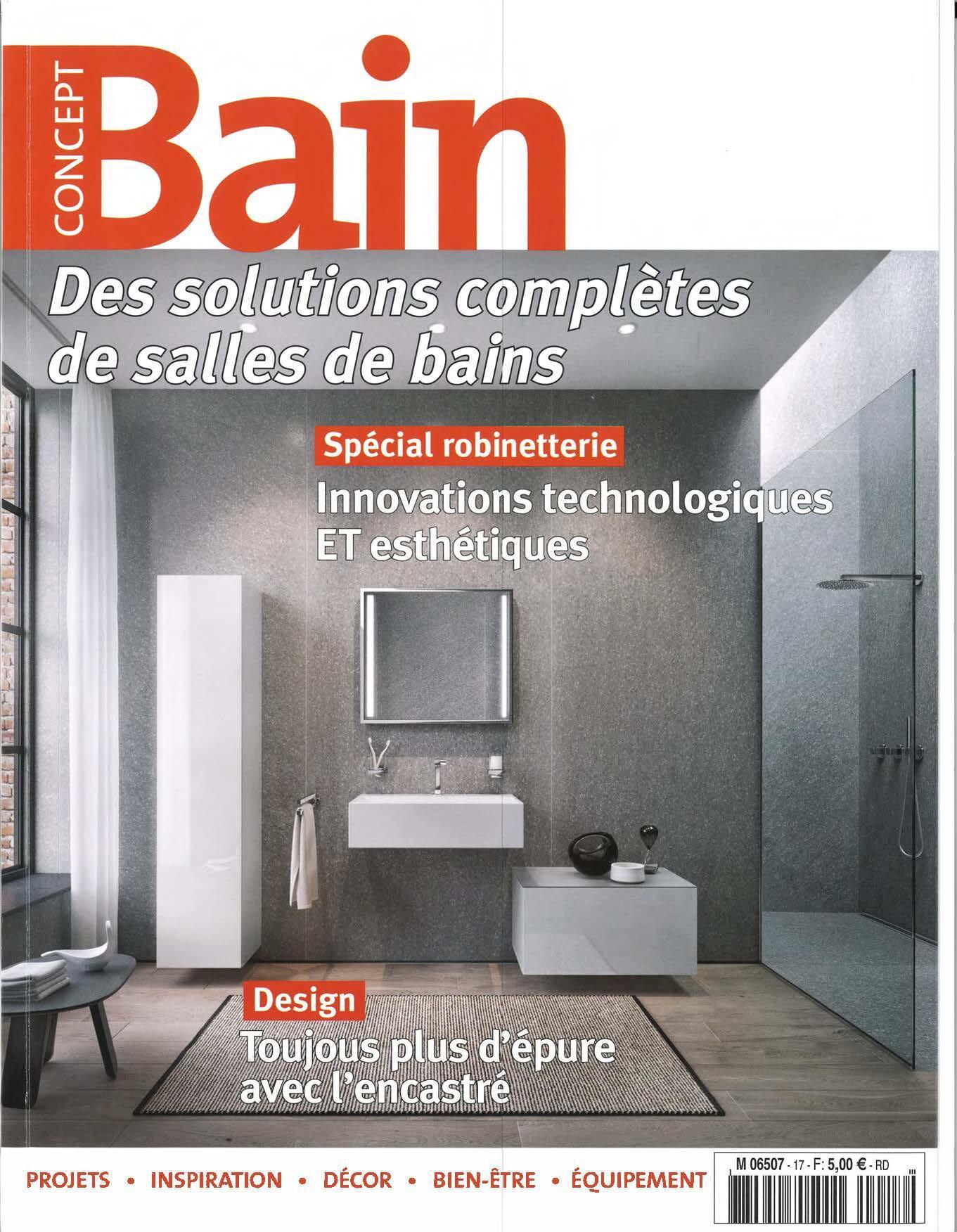 parution concept bain cedam