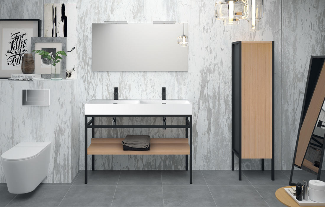 steel meubles de salle de bains baignoires fabricant fran ais cedam. Black Bedroom Furniture Sets. Home Design Ideas