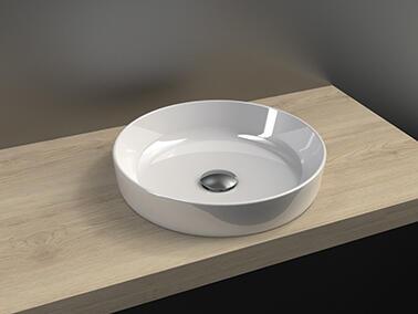 vasque semi encastree lyre cedam