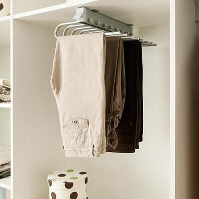 Rangement, Chambre à coucher, Porte-pantalons coulissant