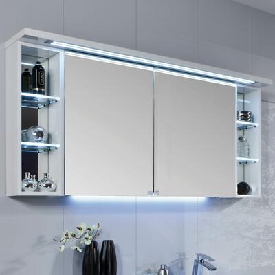 Armoire de toilette Crescendo, Largeur 140 cm