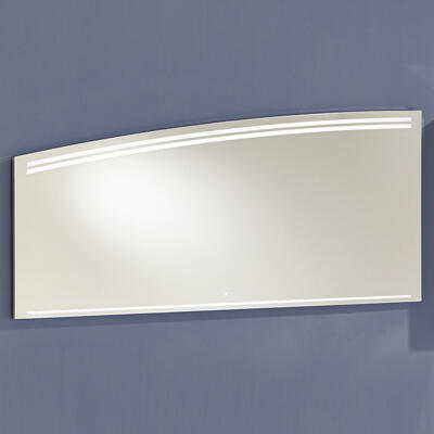 Miroir LED Crescendo, Largeur 140 cm