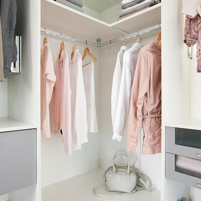 Rangement, Dressing, Armoire d'angle