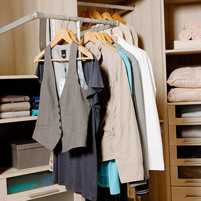 Rangement, Dressing, Penderie escamotable