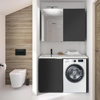 meuble machine a laver cedam