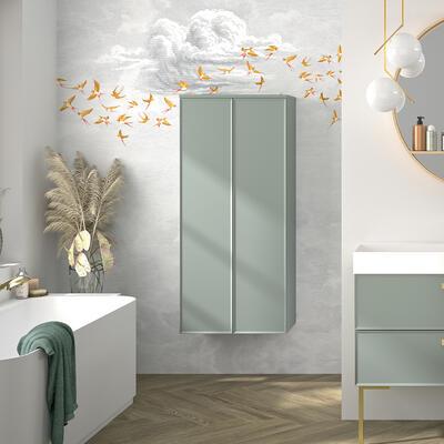 colonne rangement salle de bain edge cedam