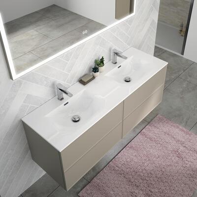 meuble salle de bain edge plan vasque ceramique