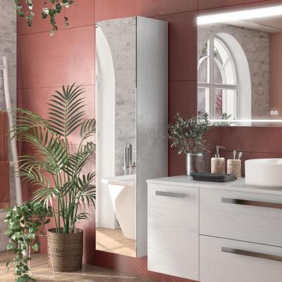 colonne rangement salle de bain harmonie cedam
