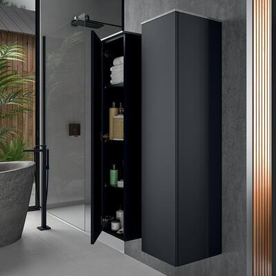 colonne rangement salle de bain iconik cedam