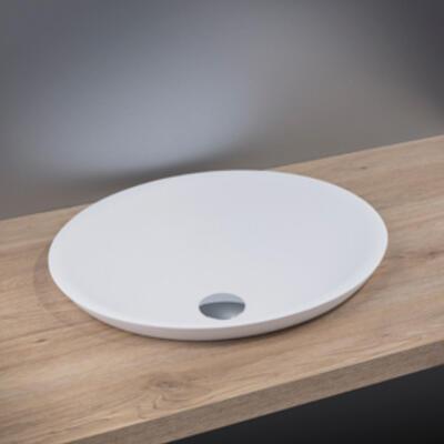 plateau avec vasque semi-encastrée cedam