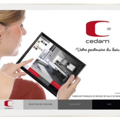application tablette cedam