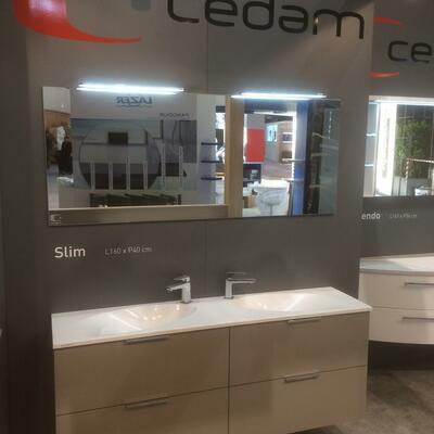 Stand Cedam Idéobain 2015 - Collection Slim