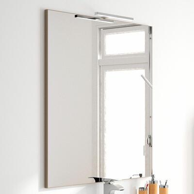 Miroir cadre alu, Largeur 140 cm