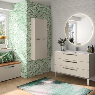 Collection Zoe Cedam, cachemire ultra mat, 3 tiroirs