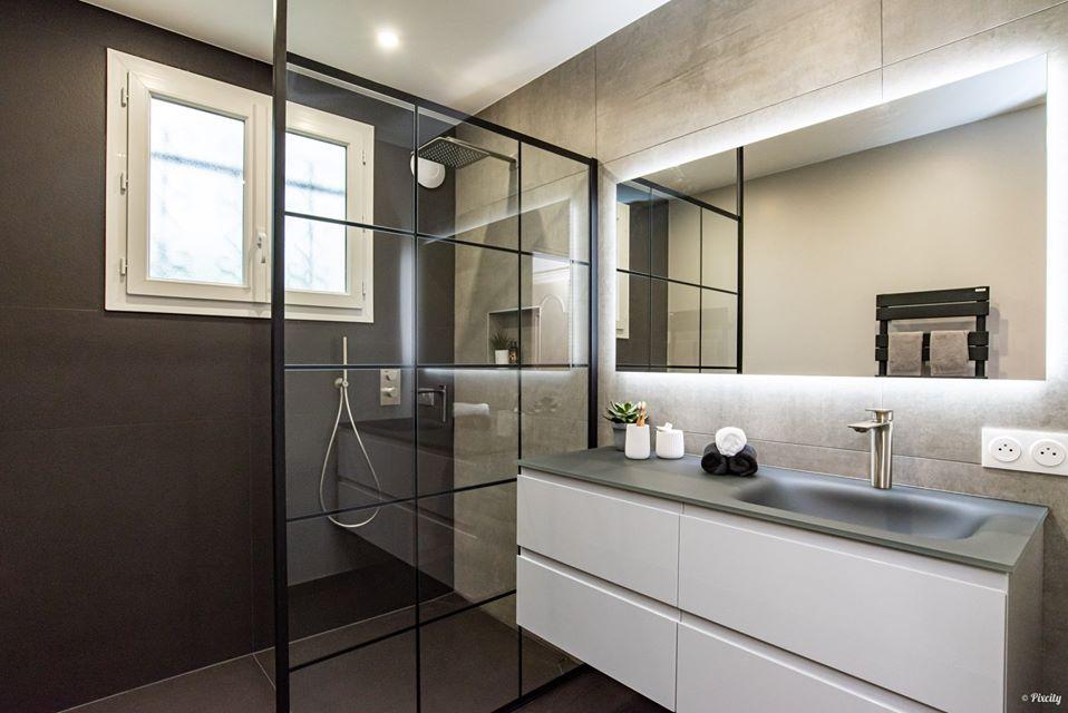 meuble salle de bain bain gloss cedam
