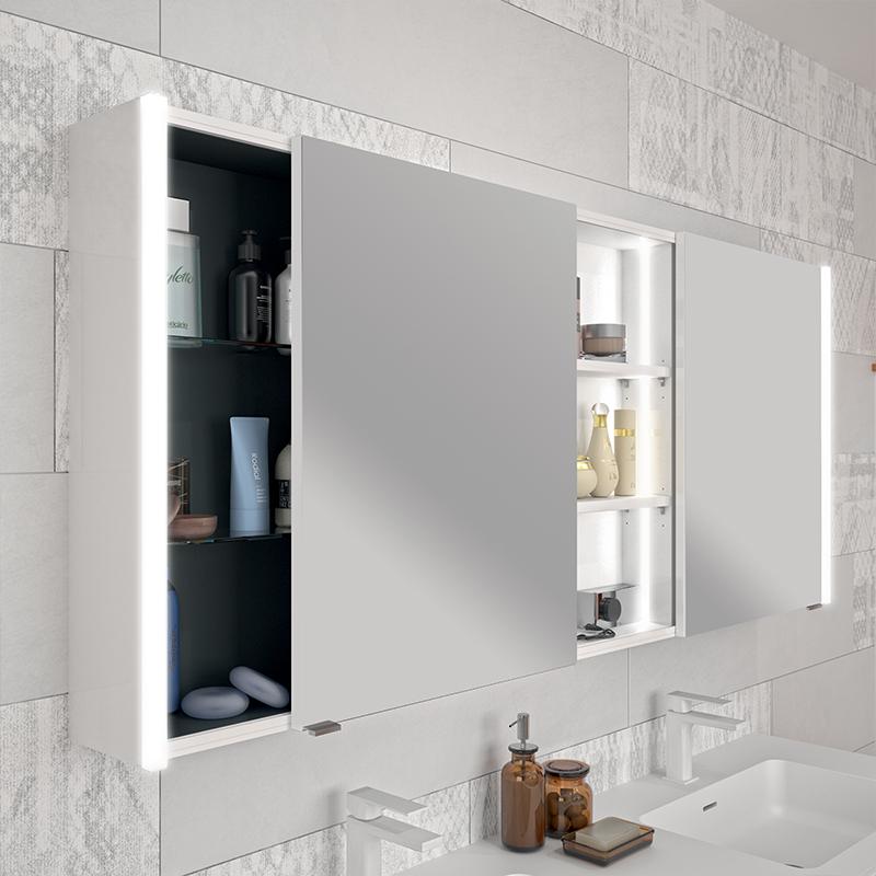 armoire de toilette portes coulissantes cedam