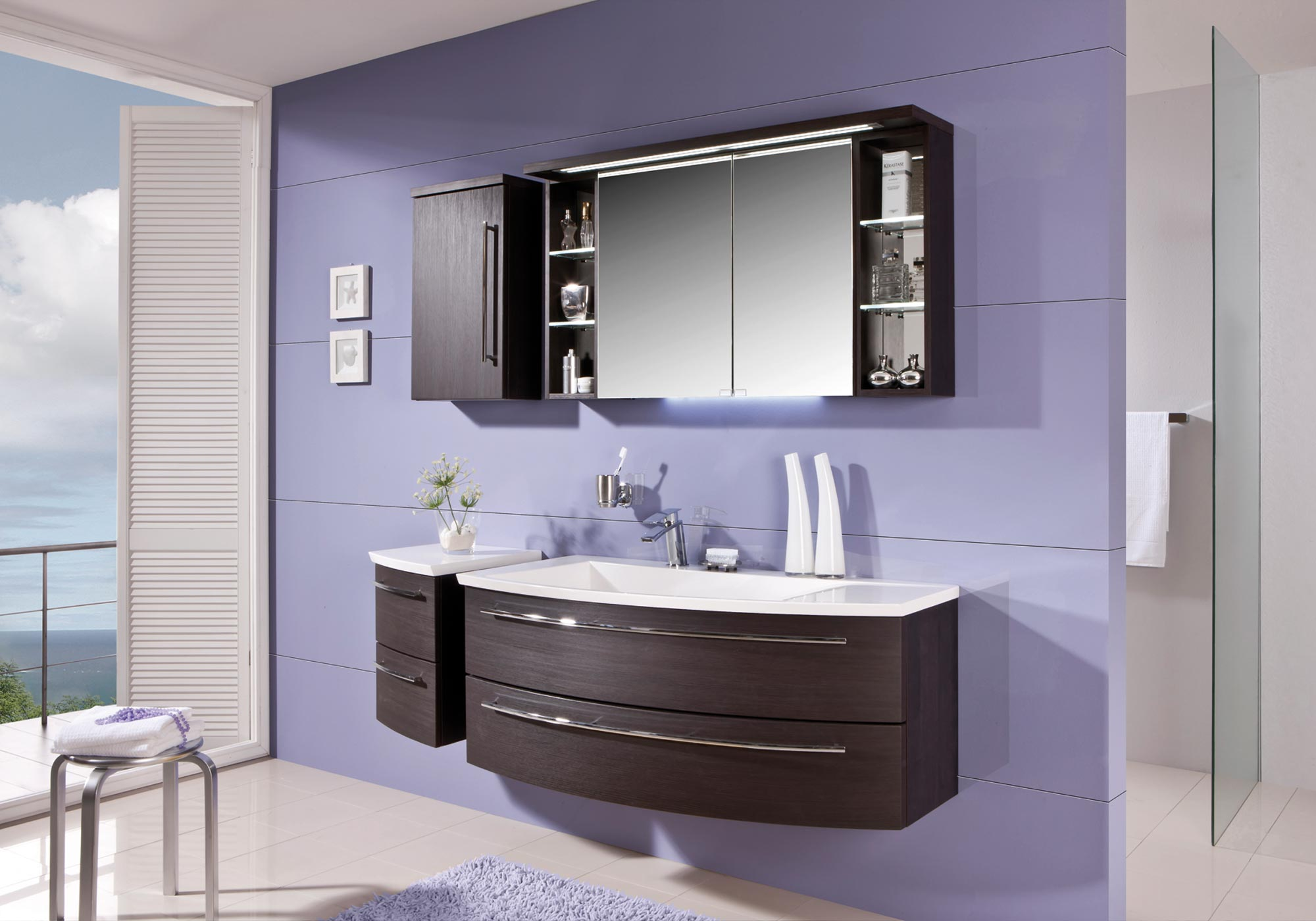 Crescendo meubles de salle de bains baignoires for Fabricant meuble salle de bain