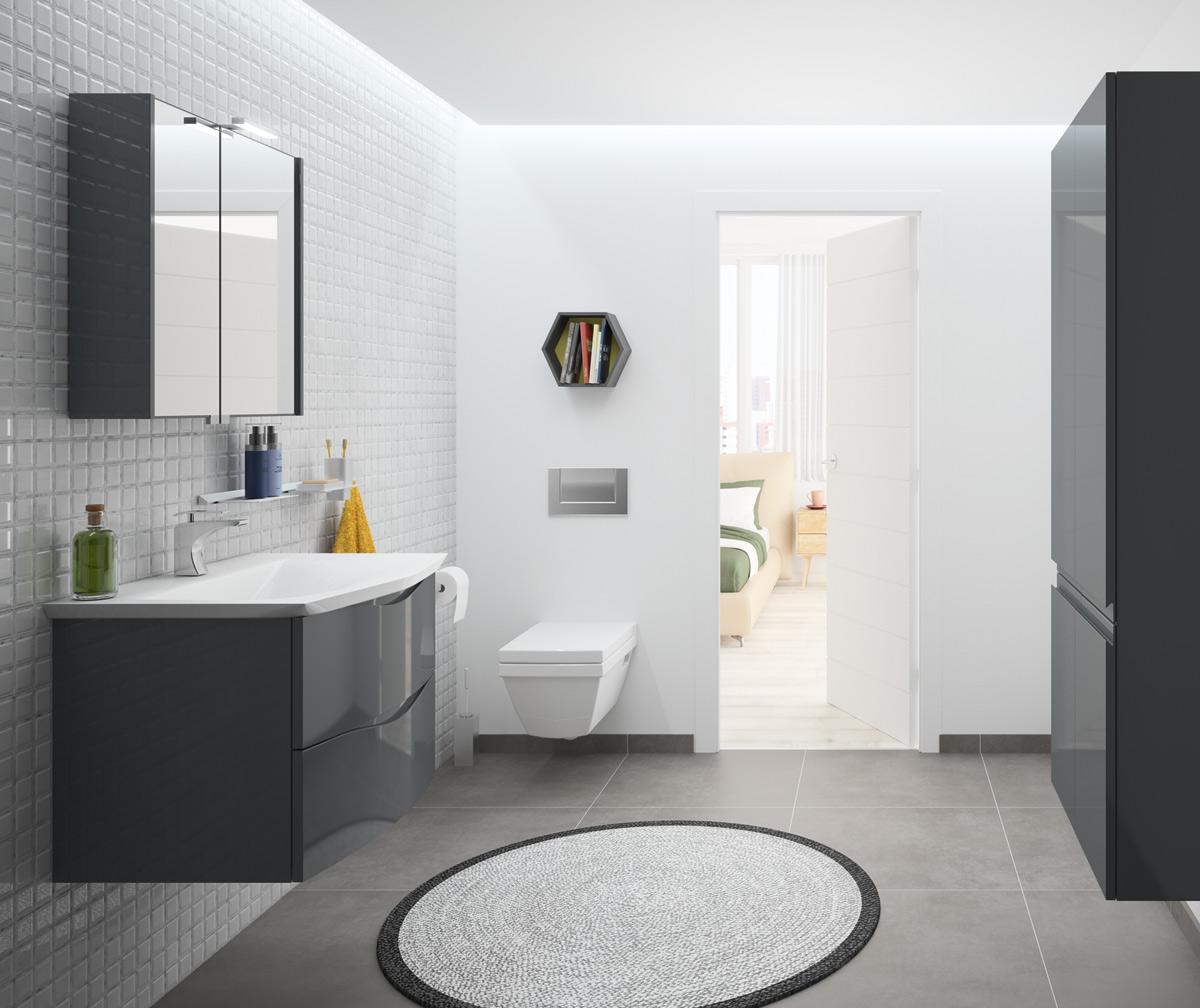 CURL | Meubles de salle de bains, baignoires, fabricant français CEDAM