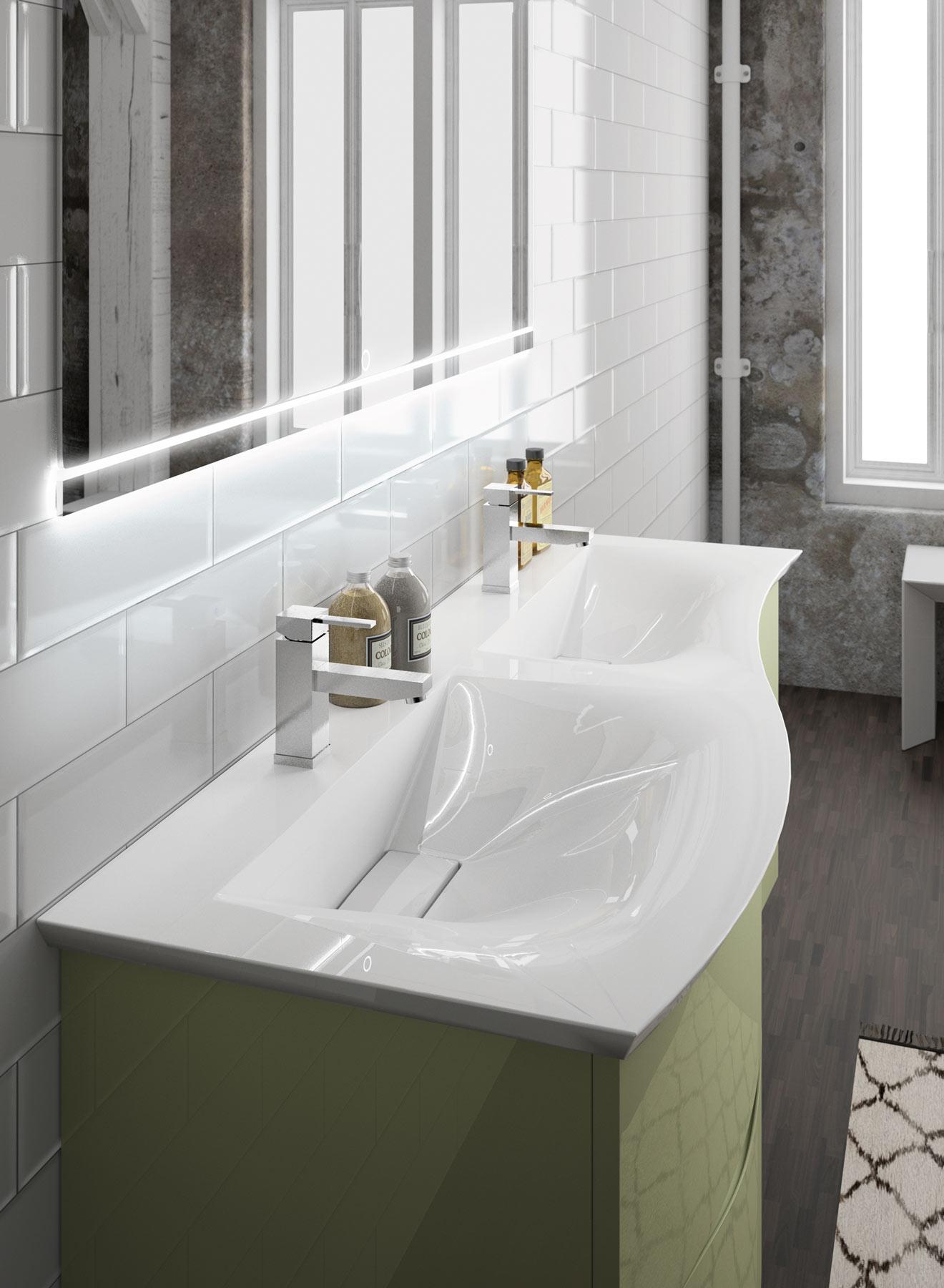 Curl meubles de salle de bains baignoires fabricant - Fabricant meuble de salle de bain ...