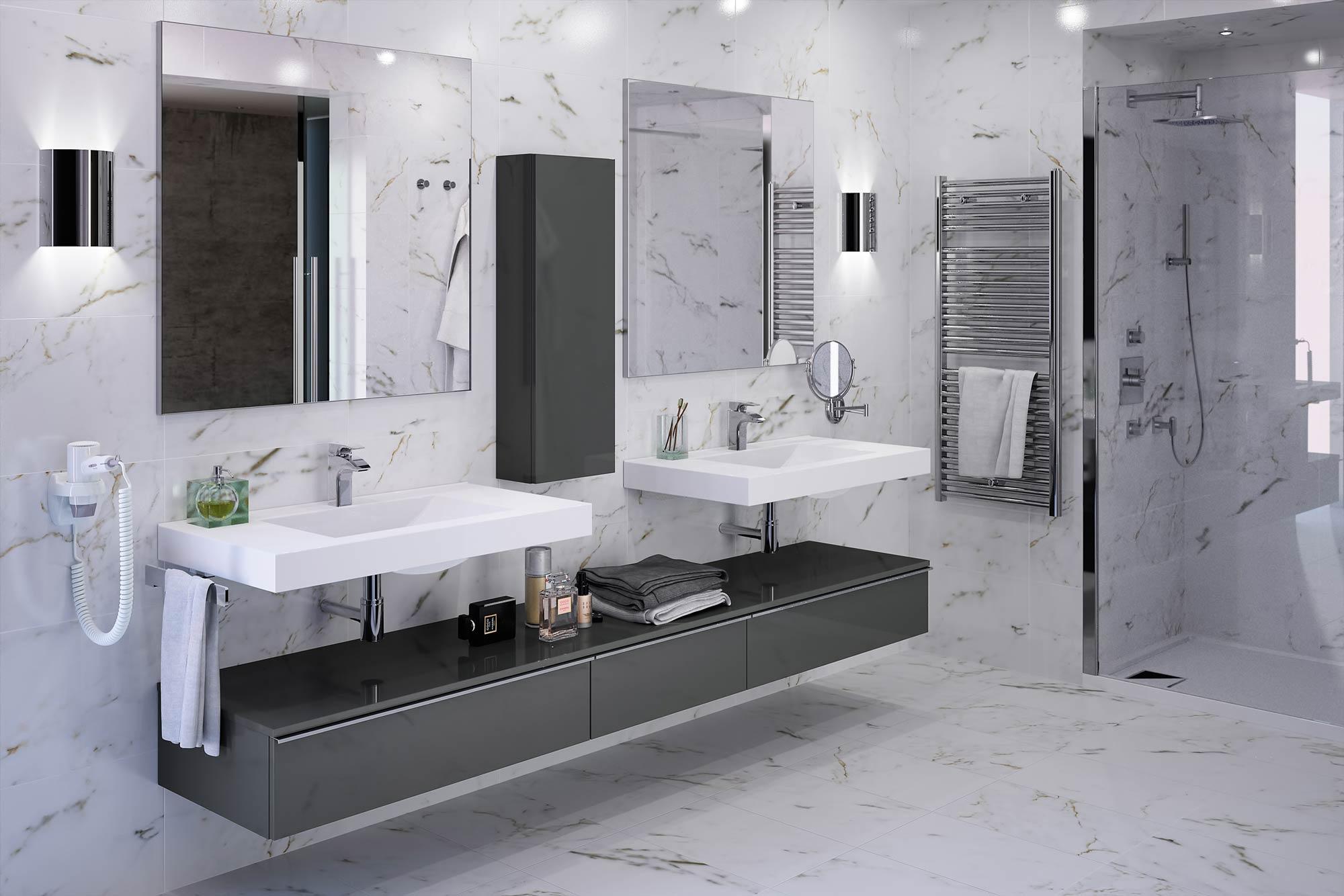 Extenso meubles de salle de bains baignoires fabricant fran ais cedam for Fabricants de meubles haut de gamme