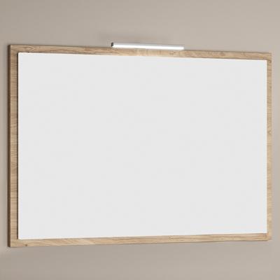 Miroir bois Feeling, Largeur 105 cm, Chêne sanremo