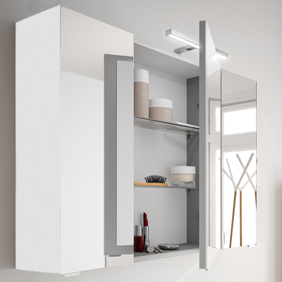 Armoire de toilette Laura, Largeur 90 cm