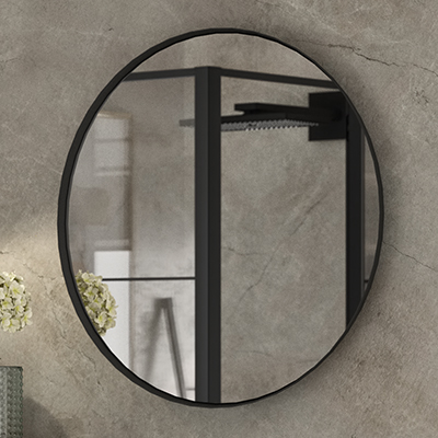 Miroir coupole noir cedam