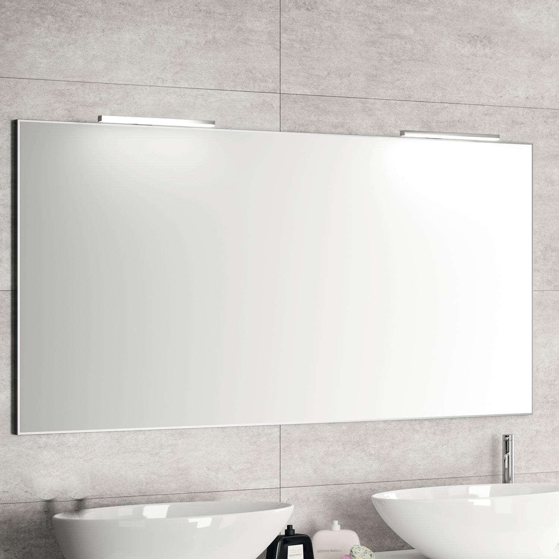 Miroirs meubles de salle de bains baignoires fabricant for Miroir salle de bain sur mesure