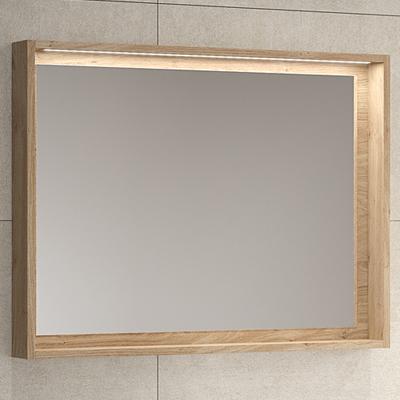 Miroir Cadre Bois Origine Meubles De Salle De Bains