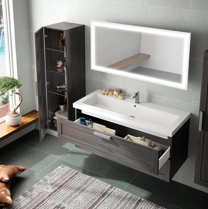Origine meubles de salle de bains baignoires fabricant for Cedam salle de bain