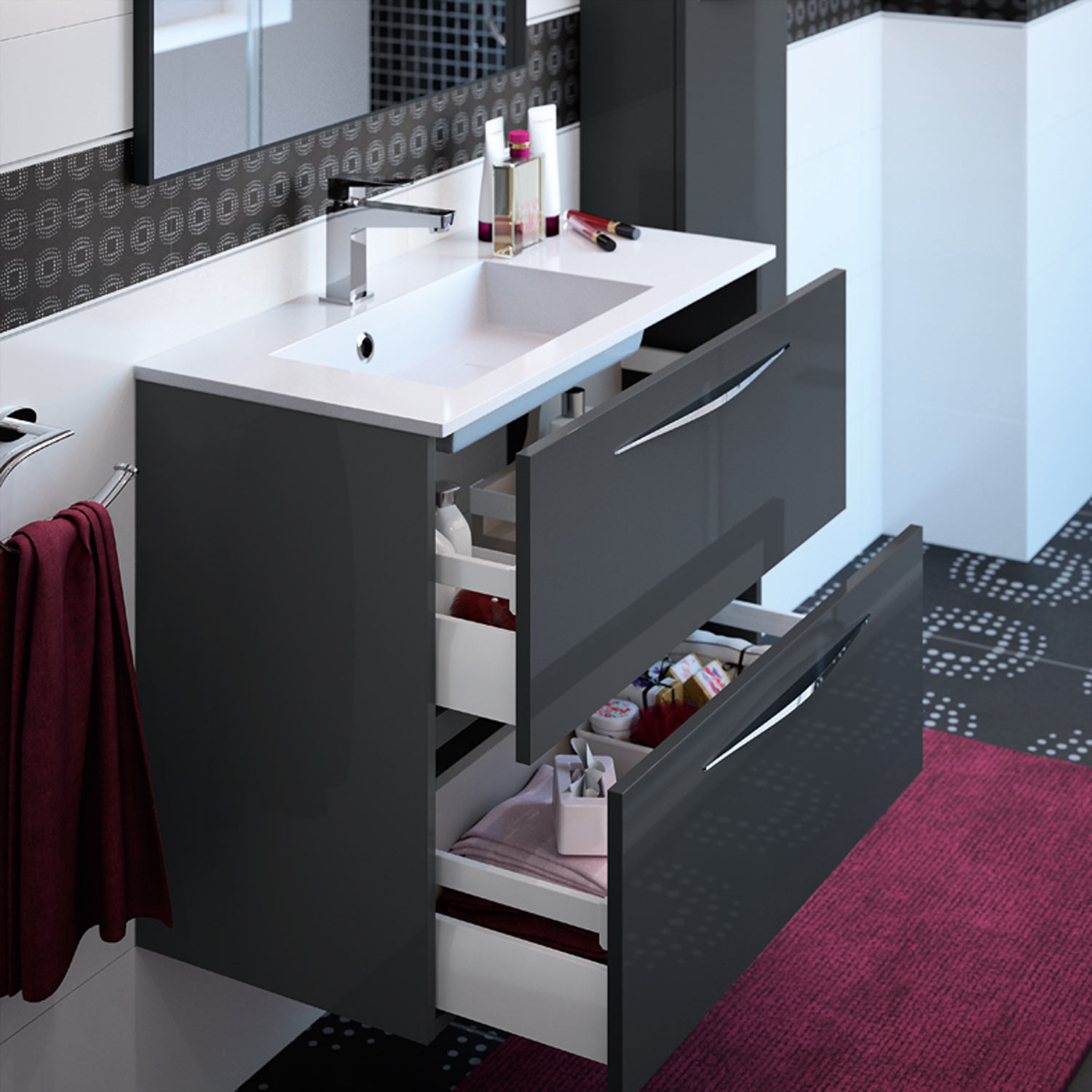 slim meubles de salle de bains baignoires fabricant fran ais cedam. Black Bedroom Furniture Sets. Home Design Ideas