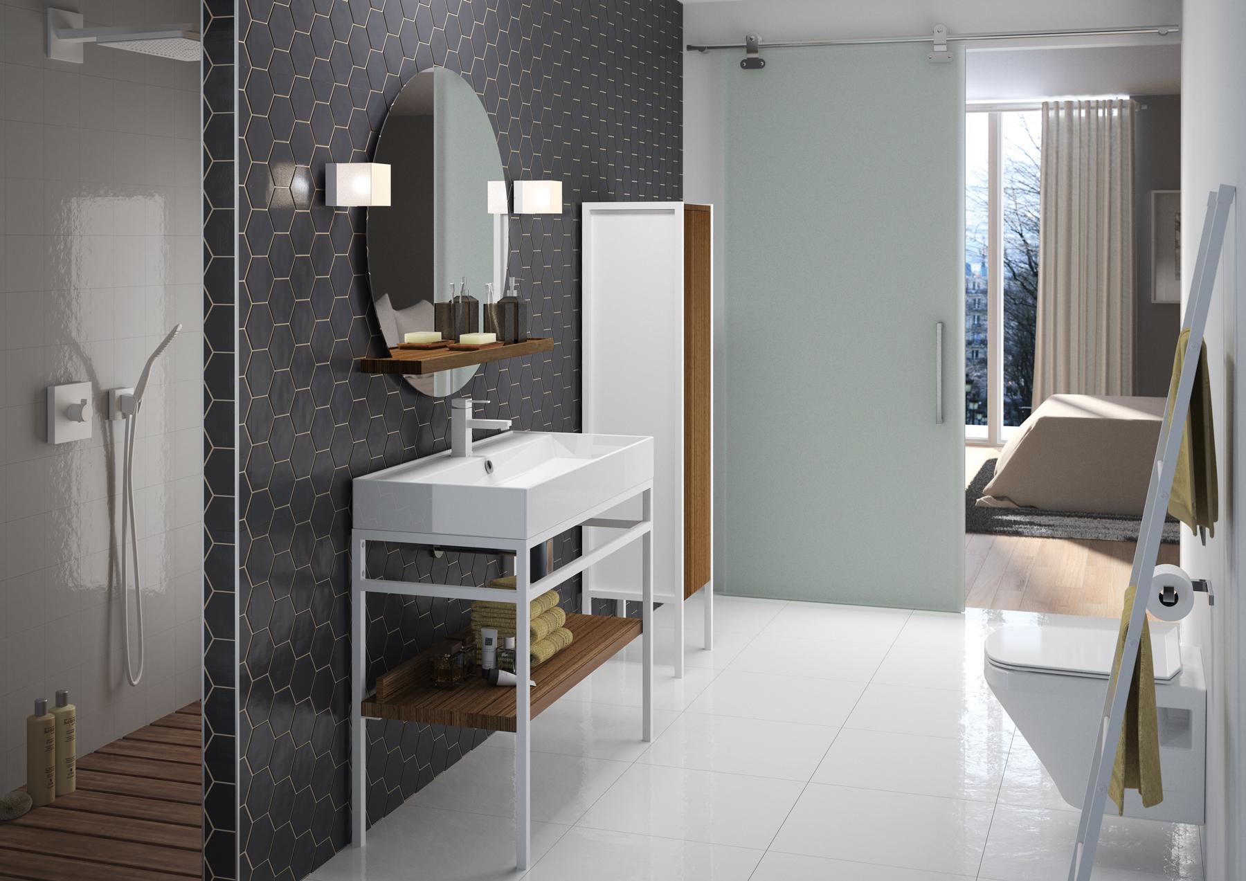 Steel meubles de salle de bains baignoires fabricant fran ais cedam - Fabricants de meubles francais ...