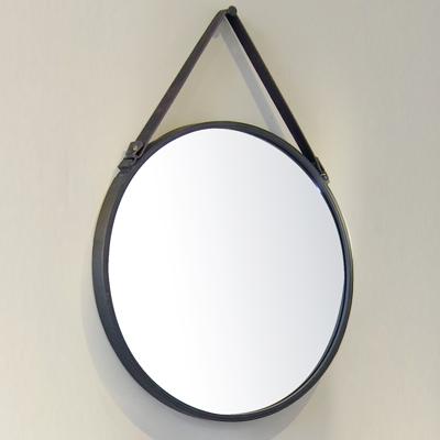Miroir rond meubles de salle de bains baignoires for Miroir rond salle de bain