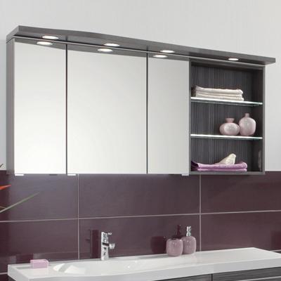 armoire de toilette swing avec tag res meubles de salle de bains baignoires fabricant. Black Bedroom Furniture Sets. Home Design Ideas