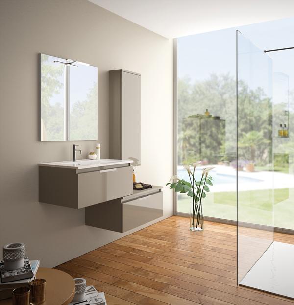Meuble salle de bain 110 cm good meuble salle de bain 110 for Meuble largeur 110