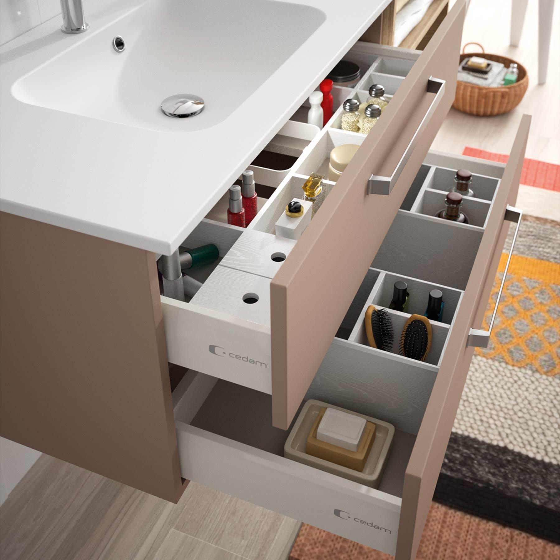 aménagements de tiroir  Meubles de salle de bains, baignoires