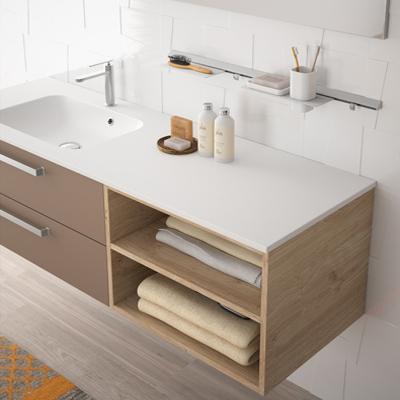 credence baignoire amazing best pose lino sur carrelage. Black Bedroom Furniture Sets. Home Design Ideas